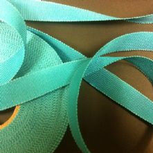 Jade Green Milliner's Petersham Ribbon in 2 Widths